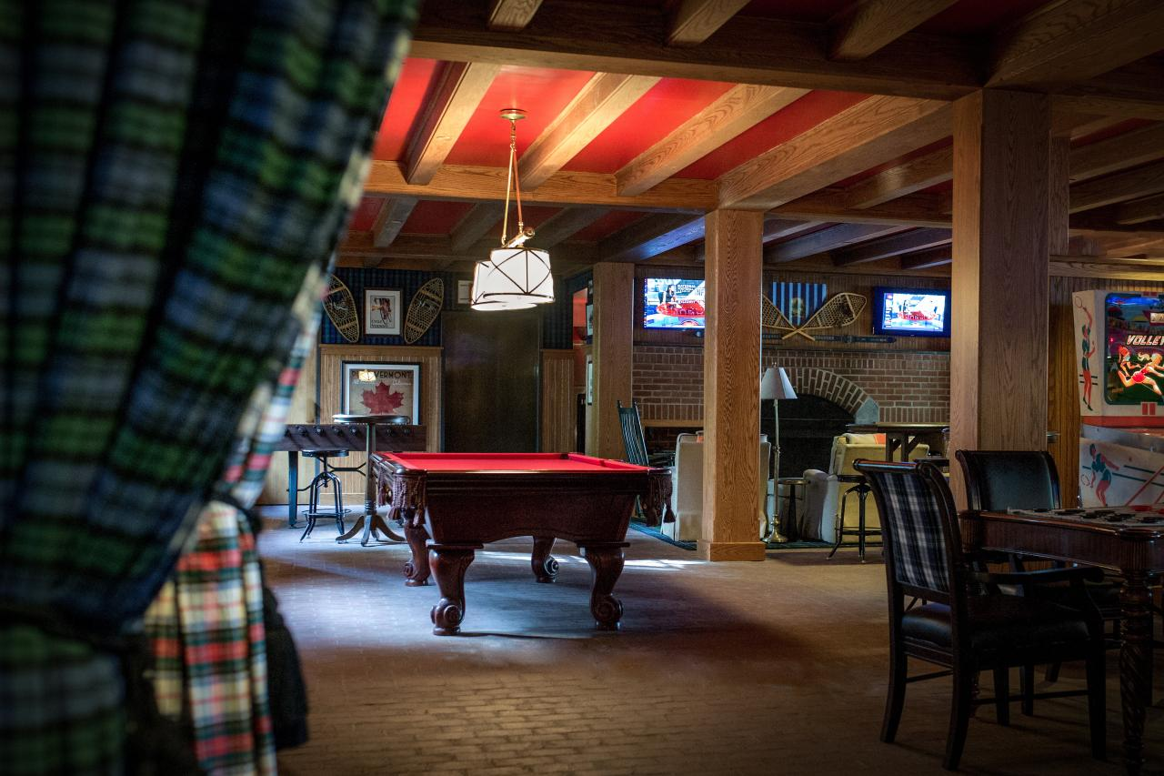 Retro Game Room The Woodstock Inn And Resort