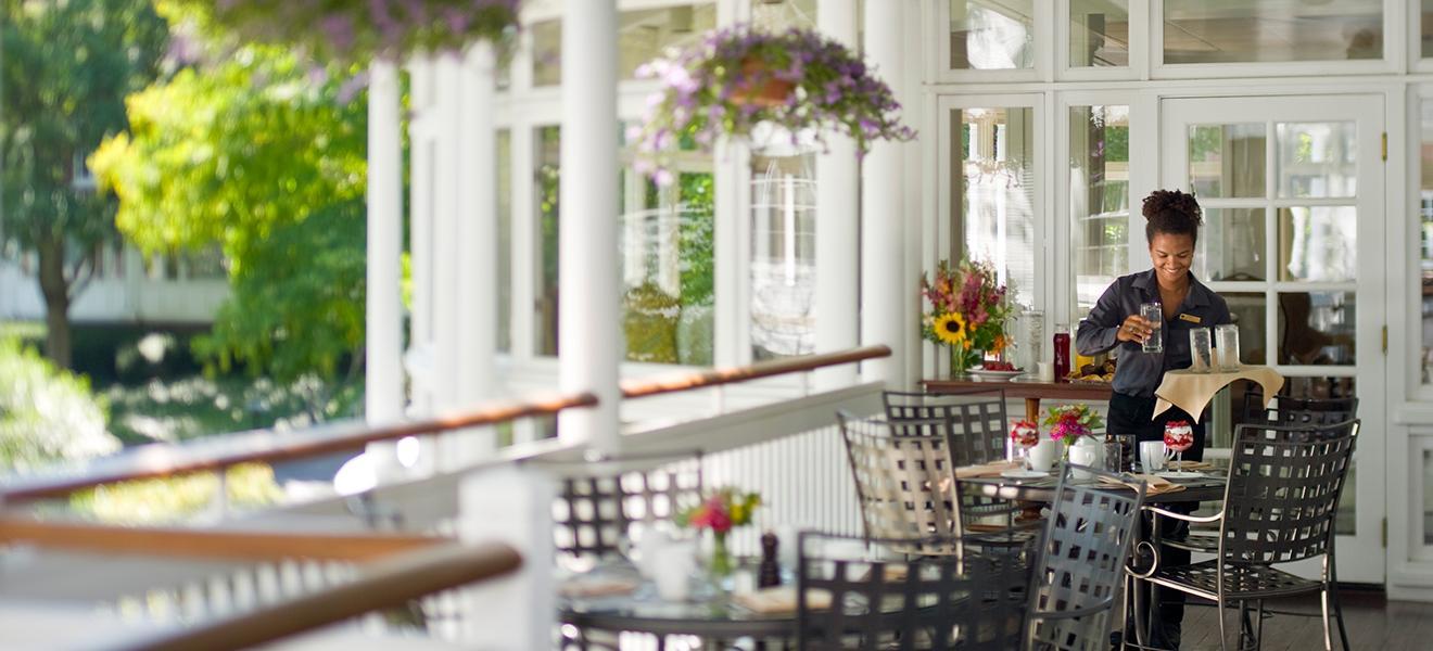 Woodstock Inn Restaurants | Farm Fresh Woodstock VT Dining